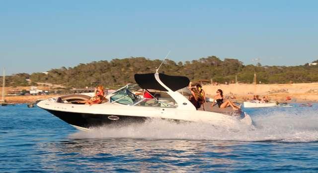 Motorboot-Vermietung ohne Kapitän Ibiza
